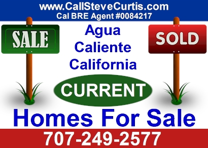 Homes for sale in Agua Caliente, Ca