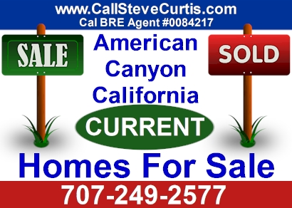 Homes for sale in American Canyon, Ca