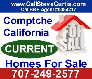 Homes for sale in Comptche, Ca