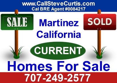 Homes for sale in Martinez, Ca