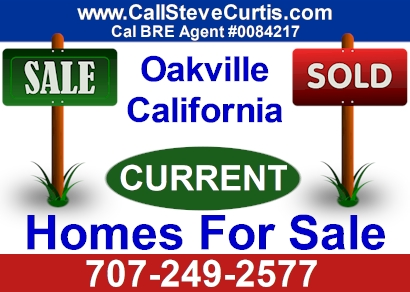 Homes for sale in Oakville, Ca