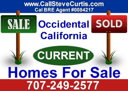 Homes for sale in Occidental, Ca
