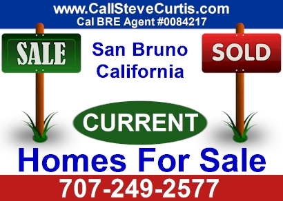 Homes for sale in San Bruno, Ca