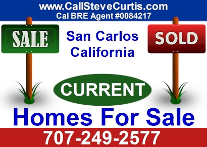 Homes for sale in San Carlos, Ca