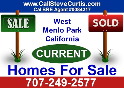 Homes for sale in West Menlo Park, Ca