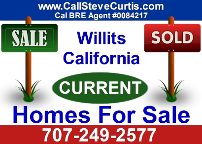 Homes for sale in Willits, Ca